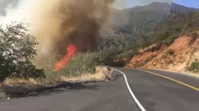 14 543 Acre Cedar Fire Burns Near Glennville On Both Sides