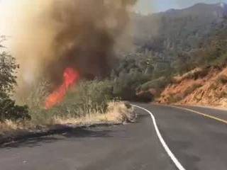 Upper Kern River campgrounds closed due to fire