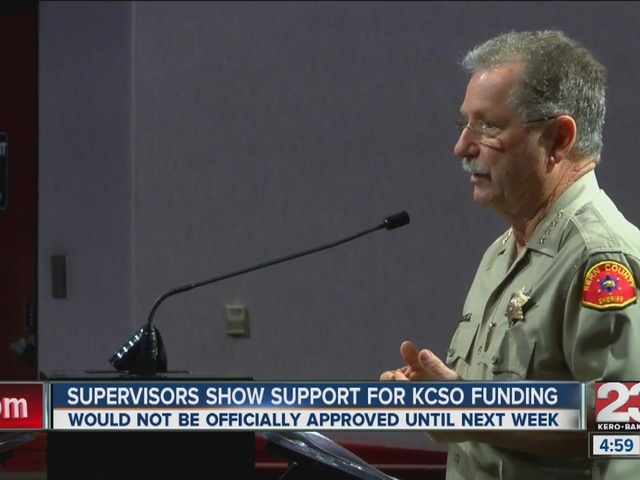 Supervisors show support for KCSO recruitment fund