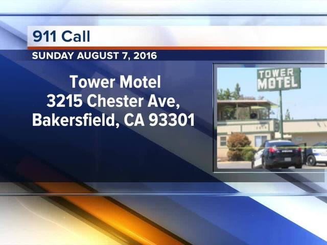 Tower Motel 911 Call - August 7, 2016