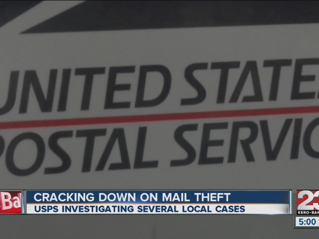 USPS cracking down on local mail theft