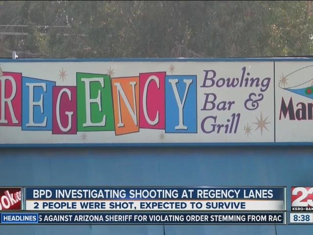 Shooting near Regency Lanes leaves two injured