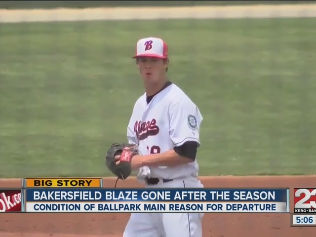 Bakersfield Blaze gone after this season