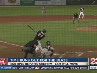 Blaze likely to be extinguished by Cal League
