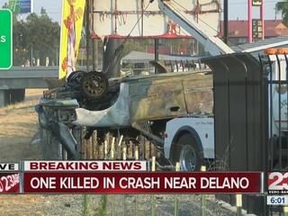 Fatal crash in Delano on SR 99