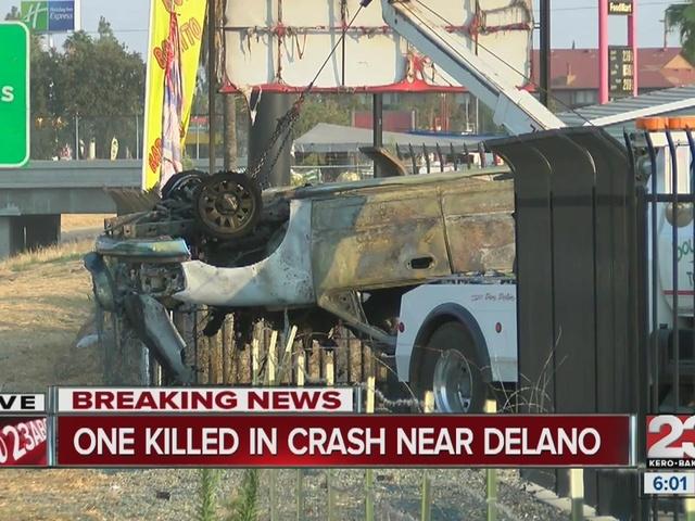 Fatal accident in Delano on SR 99