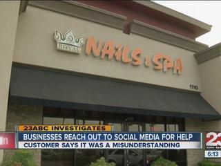 Customer says it was a misunderstanding