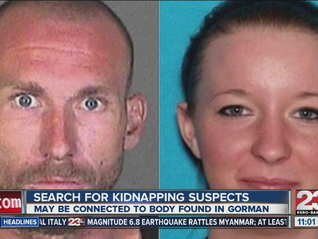 Search for Kidnapping Suspects