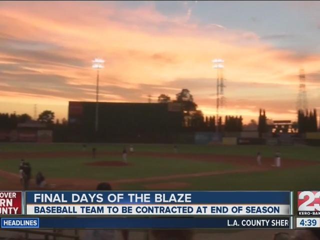 Blaze final days