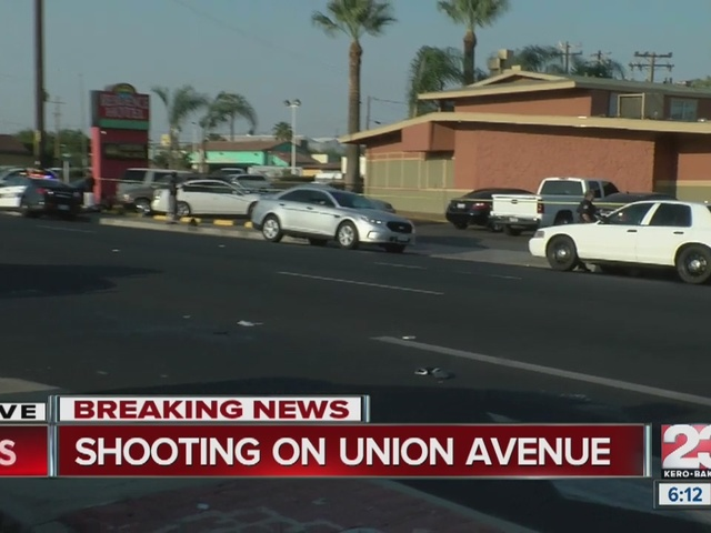 Shooting on Union Ave