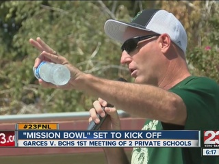Garces set to face Bakersfield Christian