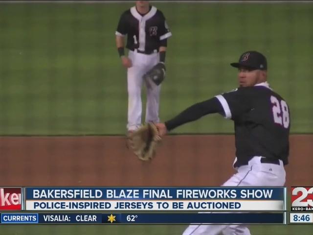 Blaze final fireworks show