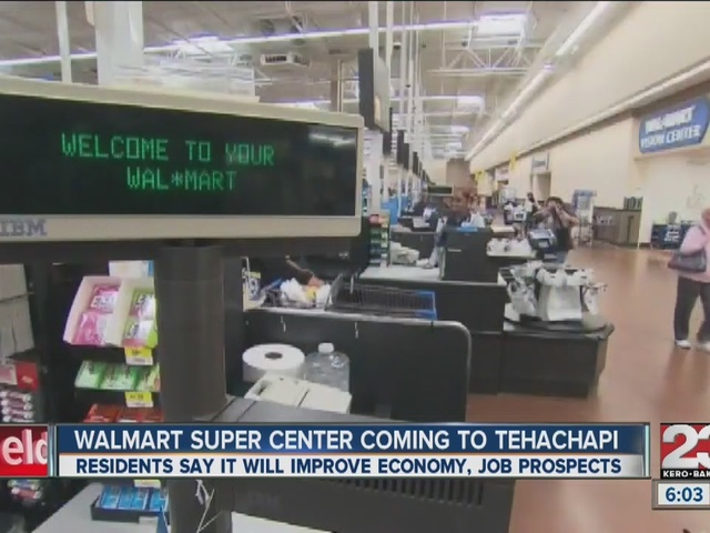 Walmart potentially coming to Tehachapi