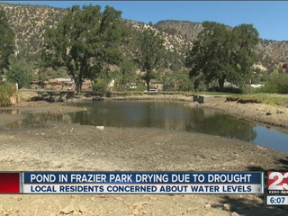 Drying Frazier Park pond meeting on Monday night