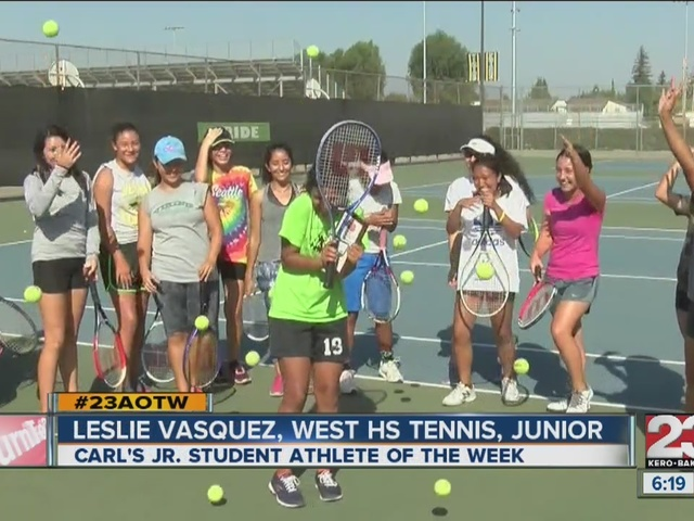 Female Athlete of the Week: Leslie Vasquez