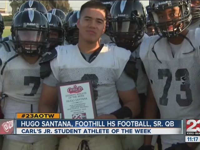 Male Athlete of the Week: Hugo Santana