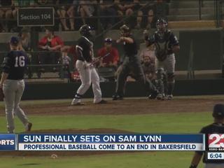 Sun finally sets on Sam Lynn Ballpark
