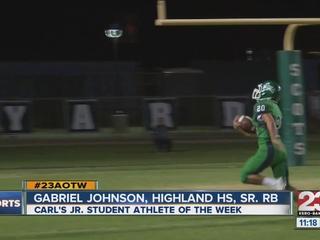 Male Athlete of the Week: Gabriel Johnson