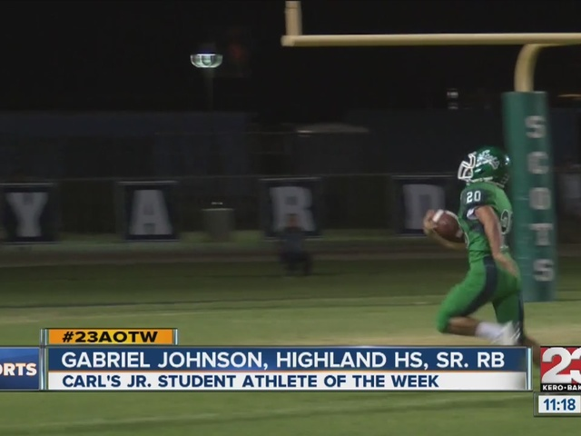 Male Athlete of the Week: Gabriel Johnson