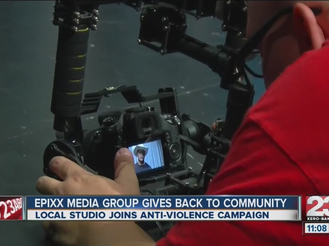 Local media group joins anti-violence campaign