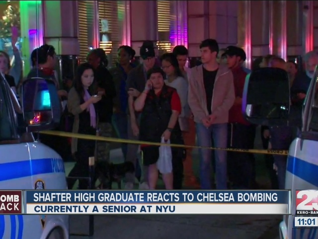 Shafter High graduate reacts to Chelsea bombing