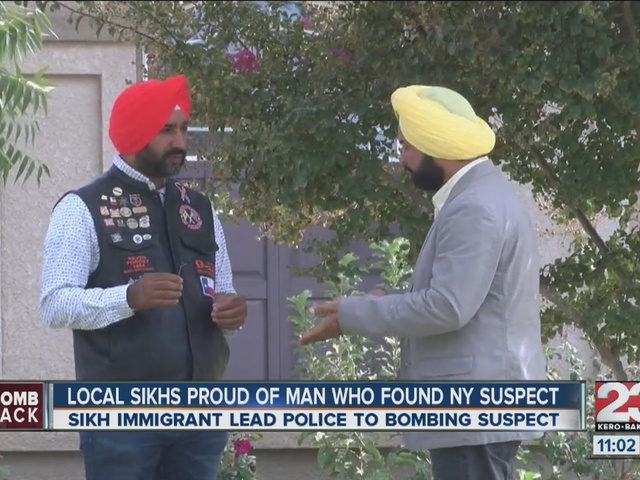 Local Sikh's proud of man that found NY suspect