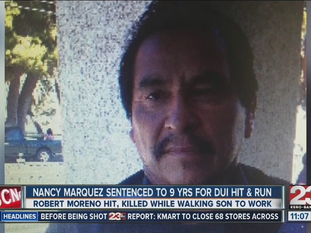 Nancy Marquez sentenced to nine years in prison for DUI hit and run