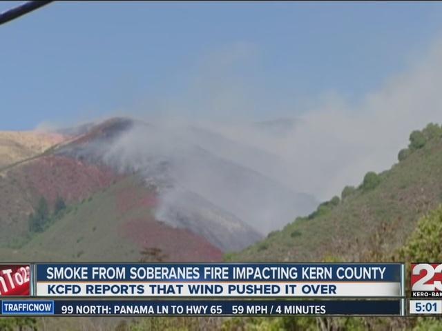 Smoke smell across Kern County