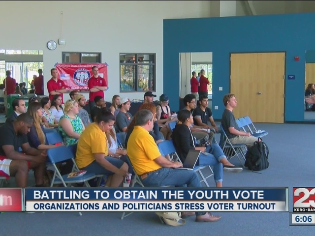 Battling to obtain the youth vote
