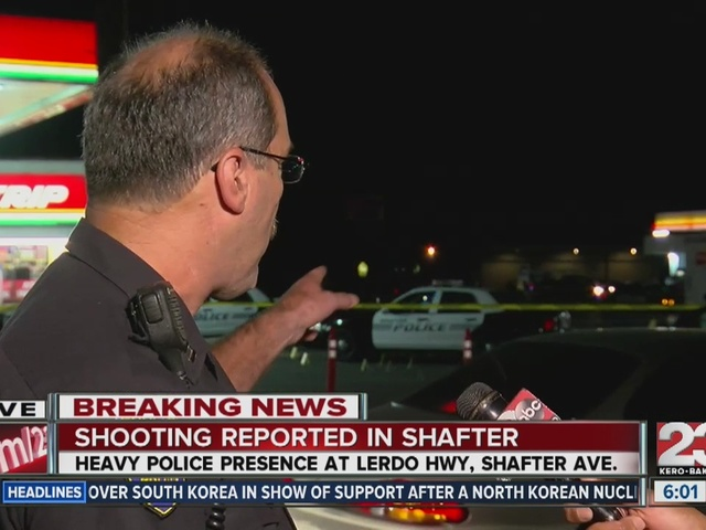 Shooting at Fastrip in Shafter