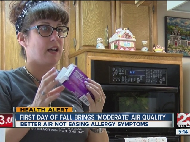 Better air bringing minimal relief to those with allergies