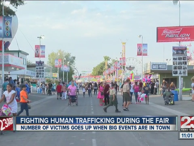 Fighting human trafficking during the fair