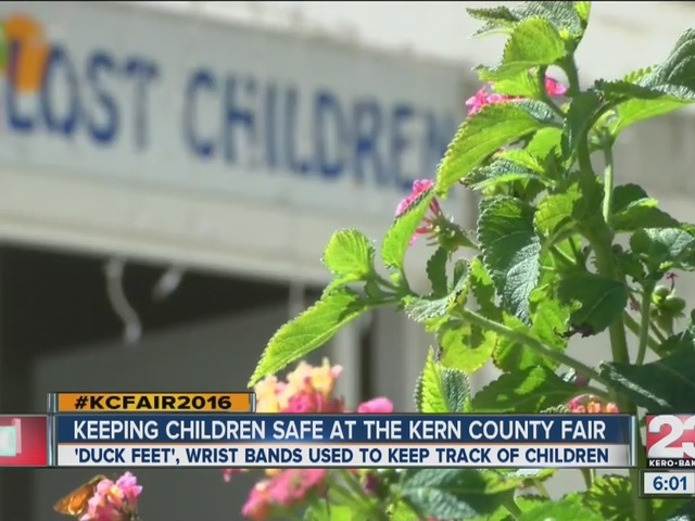 Keeping kids safe at the Kern County Fair