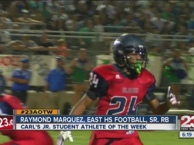 Male Athlete of the Week: Raymond Marquez