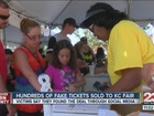 Family scammed with fake fair tickets