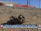 One man killed in Lamont crash