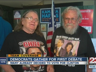 Kern Co. democrats host debate watch party
