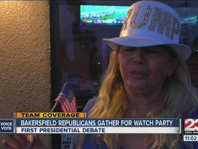Bakersfield Republicans gather for watch party