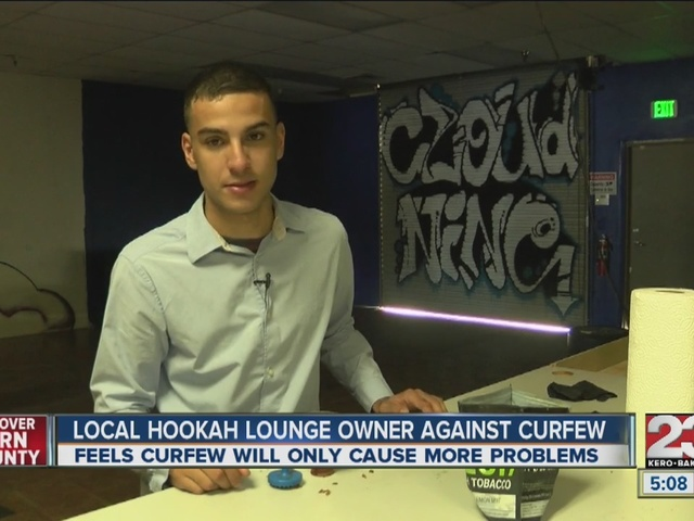 Local hookah owner says curfew will make things worse