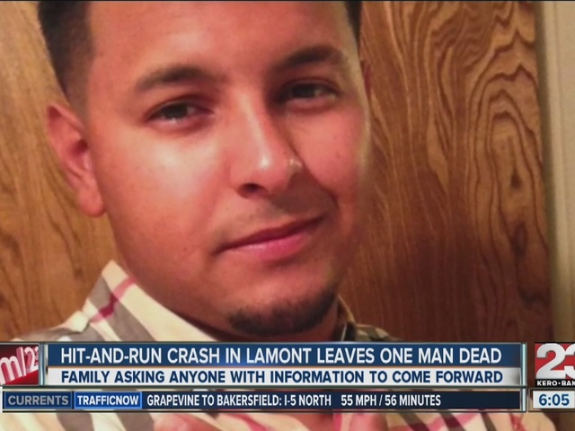 Search for driver in Lamont hit-and-run