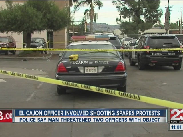 Officer-involved shooting in El Cajon