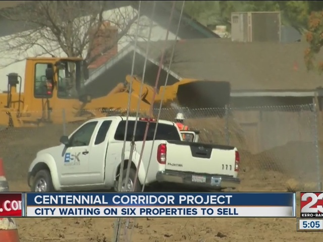 City continues trying to purchase homes for Centennial Corridor Project
