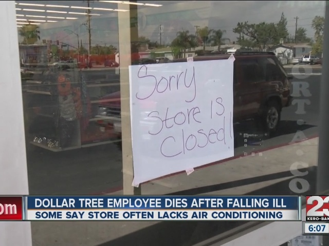 Dollar Tree Employee Death