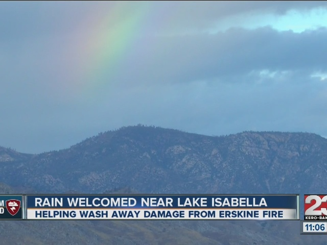 Rain welcomed into Kern River Valley