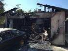 BPD citizen volunteer helps with garage fire
