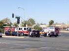 Crash shuts down traffic on E. Truxtun Ave.