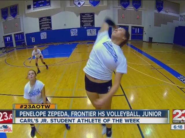 Female Athlete of the Week: Penelope Zepeda