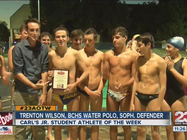 Male Athlete of the Week: Trenton Wilson