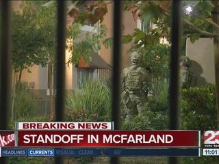 Standoff suspect in custody