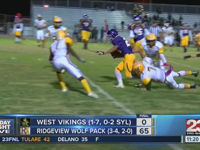 Friday Night Live Varsity High School Football Week 8